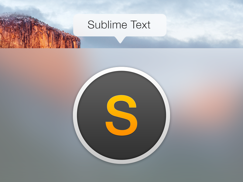 Sublime icon replacement