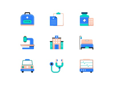 Medical Icon health hospital medical vector design ui illustration icon