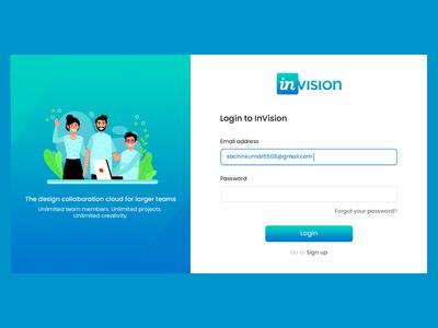 Invision Redesign Concept
