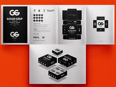Good Lift Presentation mark fitness logo package design identity branding
