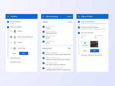 Merchandising Tool ux ui app android app