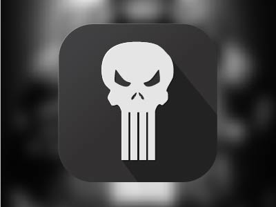 The Punisher Logo punisher ios7 ios icon