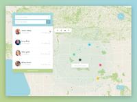 Location tracker lg