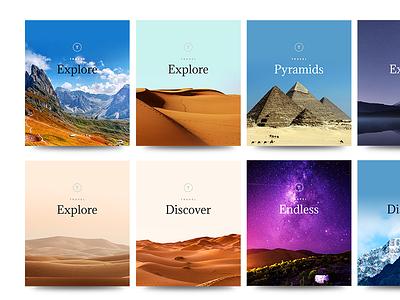 Cards - Free PSD freebie psd grid blog typography design cards