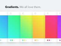Gradients. We all love them.