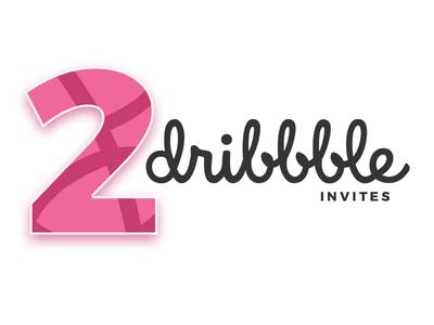 2 dribbble Invites invite dribbble dribbble invite