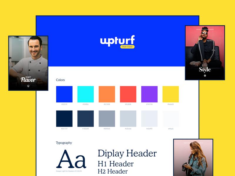 wpturf - Style Guide product design color palette typeface logo colors interface webdesign web design website web ux guide styleguide style guide design ui branding brand app app ui