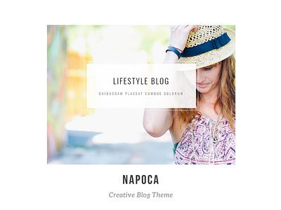 Napoca - Creative Blog magazine html lifestyle theme bootstrap blog creative