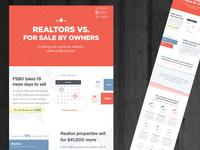 Realtors vs. FSBO Infographic