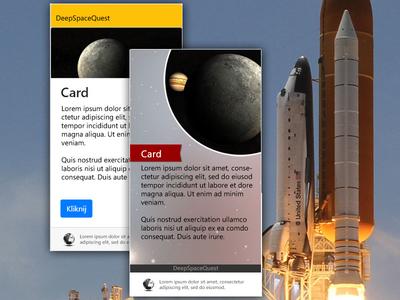 Standard Bootstrap card bootstrap photoshop psd web website
