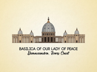Basilica Of Our Lady Of Peace illustration