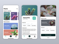 Plants watering app