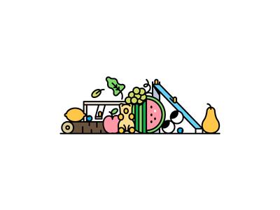 Herbaland Banner design .1 vancouver gummies vegan slide eyes fruits vitamins gummy