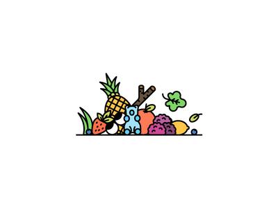 Herbaland Banner design .2 vancouver gummies vegan slide eyes fruits vitamins gummy