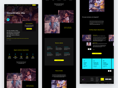 Bien | Institutional Website Accessibility business flat design flat website ux ui