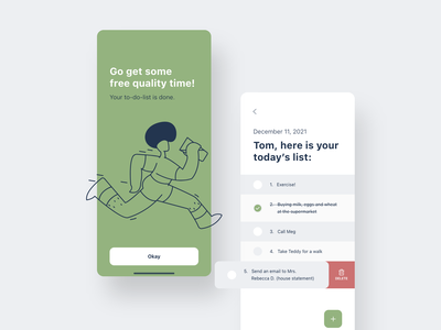To-do-list app to-do list manager vector illustration flat design illustrations flat ux ui