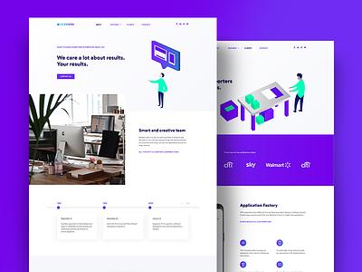 Beeders - Website Redesign webdesign business flat design ui ux website illustrations
