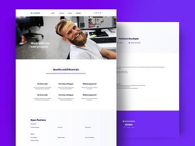 Beeders - Website Redesign flat design design business illustration ux ui website illustrations flat