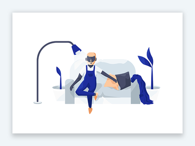 Dream Shop website ux ui shop illustrations illustration flat design ecommerce app