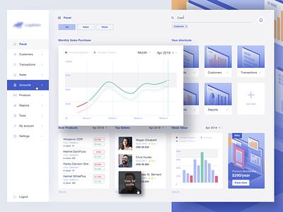 Stock | Dashboard design flat design illustrations flat ui ux website dashboard dash