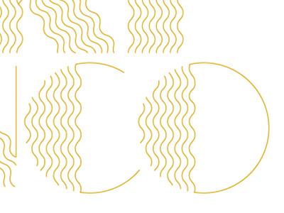 Wavey Gold hair wavey gold art deco