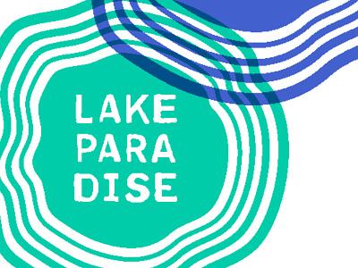 Lake Paradise Records  stamp lake summer vibes