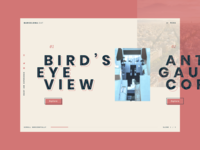 Asymmetrical Barcelona trends 2020 asimetrical ux landingpage flat grid retro website barcelona