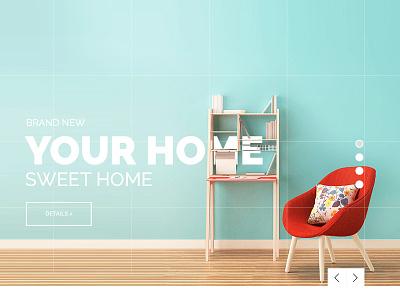 Home&Decor e-commerce concept e-commerce ecommerce photoshop decor home homedecor