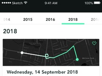 05 cycling app path list