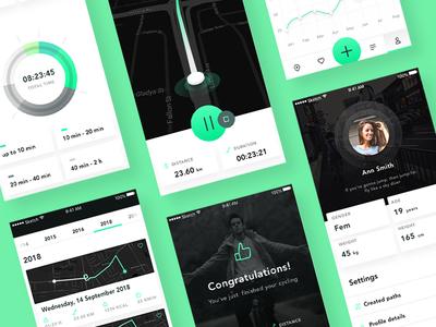 Bike App New Screens