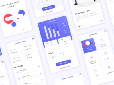 Fintess App Concept (3/4)