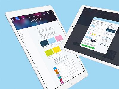 Digital Asset Management (DAM) - Guidelines bespoke image ui user interface dam identity brand guidelines digital design