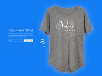 Notary Week Tshirt Design