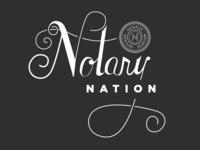 Notary Nation Tshirt Design
