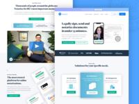 Notarize - Homepage Design