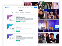 Notarize - Events Page