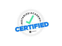 Notarize Academy Certified