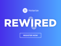 Notarize Rewired conference logo