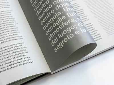 Storie Italiane. Fotogrammi di interni e architetture d'autore new offset silver sans serif type monograph catalog catalog design book design book typography neue haas grotesk
