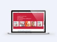 ANDIAM! Website design