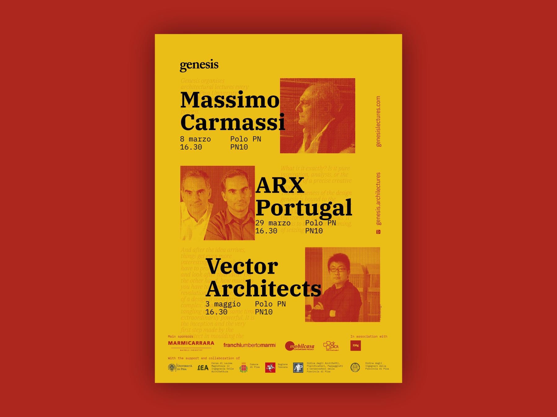 Genesis Lectures 2019 Main Poster