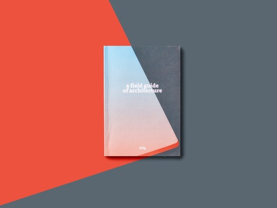a field guide to architecture bold book cover magazine design book design cover design illustration abstract grid layout architecture guide magazine book