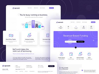UpCrunch design flat iconography icon art app layout clean type typography minimalistic minimal web website illustration