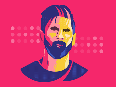 Messi messi logo sports logo icon illustration brand design brand sports branding sports fotball soccer