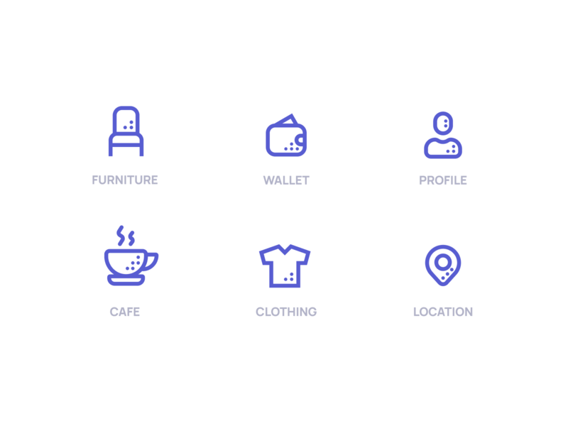 Iconography Business Management design flat iconography icon art app layout clean type typography minimalistic minimal web website illustration