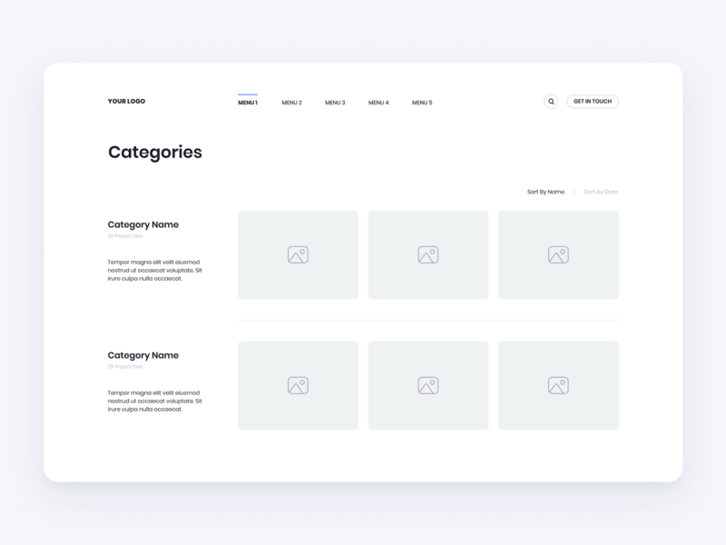 Categories Layout design flat iconography icon art app layout clean type typography minimalistic minimal web website illustration