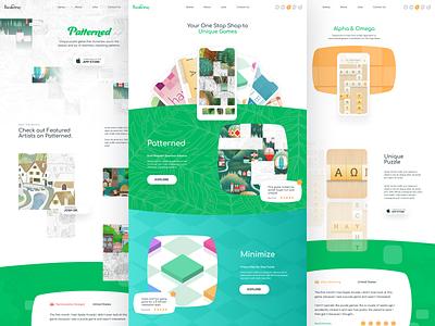 Borderleap branding website minimal typography app illustration web design clean minimalistic