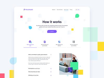 PicnicHealth typography minimal branding website app web illustration design clean minimalistic