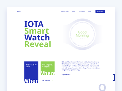 IOTA typography minimal branding website app web clean illustration design minimalistic
