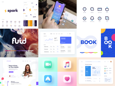 Dribbble2020 flat branding website minimal typography app web illustration clean design minimalistic